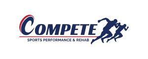 ACL Tears: Logo of Compete Sports Performance and Rehab