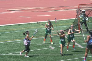 Exercise Asthma: Picture of girls playing lacrosse